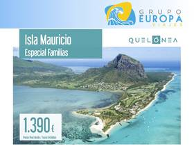 ISLA MAURICIO ESPECIAL FAMILIAS