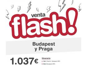 BUDAPEST + PRAGA